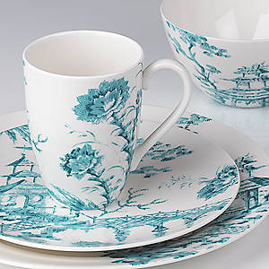 Toile Tale Teal