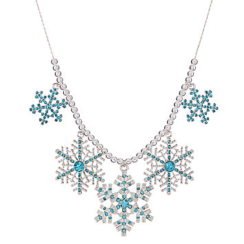 LENOX Jewelry: Necklaces - Frosted Snowflake Necklace
