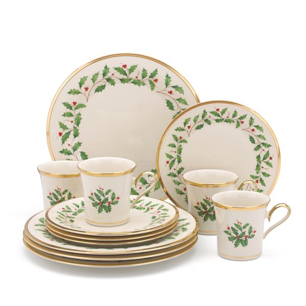 Holiday® 12-piece Dinnerware Set by Lenox