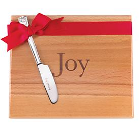 Joy Cutting Board & Holiday Spreader