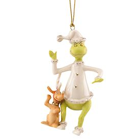 Grinch & Max Hear the Whos Singing Ornament