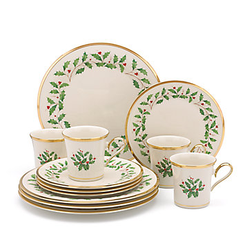 LENOX Dining: Holiday Dinnerware - Holiday® 12-pc Set
