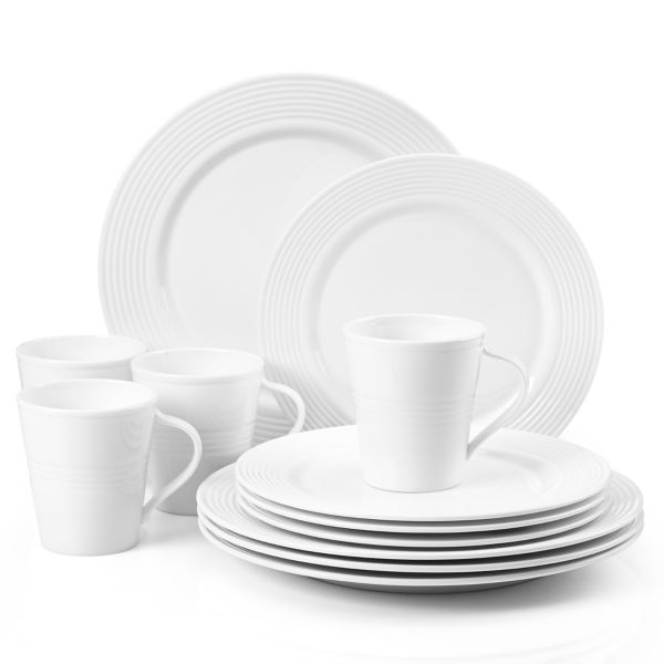 Tin Can Alley® Seven° 12-piece Dinnerware Set by Lenox